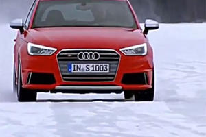 Audi S1 Does Some Hot-Hatching Snow Tricks