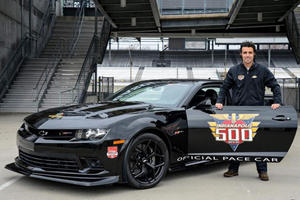 Chevrolet Camaro Z/28 Selected as Indy 500 Pace Car