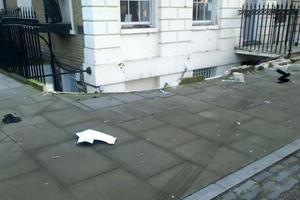 London Woman Crashes Range Rover into Basement