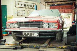 Dual Barn Find: 1969/70 Aston Martin DBS V8 and Vantage