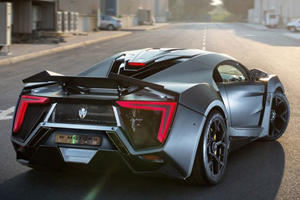 W Motors to Reveal 770HP Lykan Hypersport in Monaco