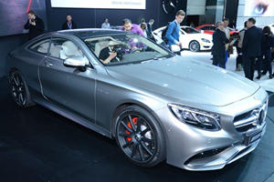 Mercedes S63 AMG Coupe Touches Down in New York