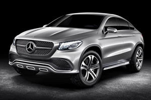 Mercedes Concept Coupe SUV Debuts in Beijing