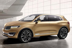 Lincoln Gives it a Go in China With its MKX Concept