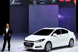 The Redesigned Chevy Cruze is for China; Facelift for US