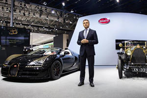 Veyron Grand Sport Vitesse Black Bess Joins Special Guest in Beijing