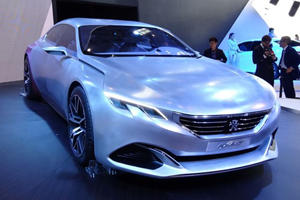 Peugeot Exalt Coupe is One of the Beauties at Beijing