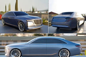 Design Project Previews Ultra-Luxury Mercedes U-Class