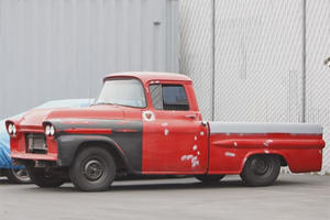 This 1959 Chevy Apache Pickup Eats Porsches on the Corners