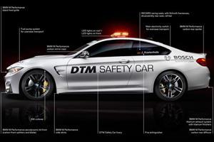 BMW Reveals M4 Coupe DTM Safety Car