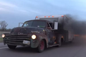 Rusted Rat Rod Truck is the Epitome of Cool