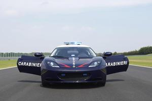 Lotus Evora S Carabinieri Cop Car