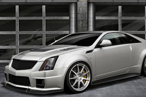 Hennessey Thinks Fast: Cadillac CTS-V Coupe That Has 1,000 Horses