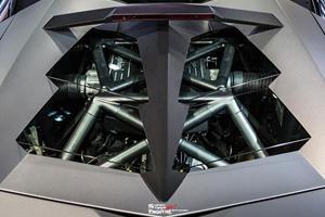 Lamborghini Reventon Roadster on Display in Hong Kong