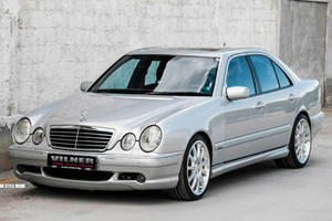 Rare 2001 Mercedes E55 AMG Made Rarer by Vilner