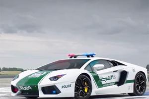 Step Inside the Dubai Police Department's Supercar Garage