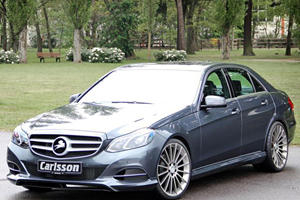New Mercedes E-Class Gets the Carlsson Treatment