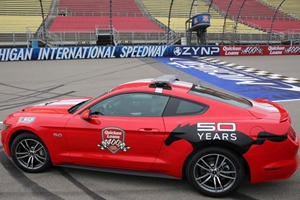 2015 Ford Mustang Pace Car Revealed
