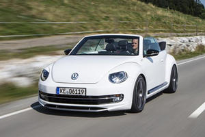 VW Beetle Cabrio Aggressively Updated by ABT