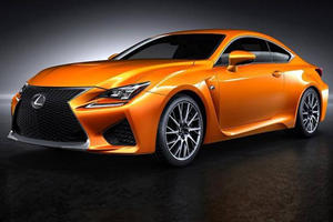 Lexus Has Finally Named the RC F's New Color