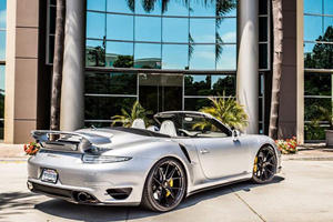 Porsche 991 Turbo S Convertible Gets Tag Motorsports Treatment