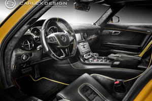 Carlex Design Pimps Out Mercedes SLS AMG Black Series