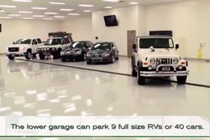 Man Builds $5 Million Underground Garage