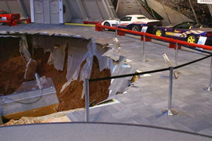 Corvette Museum Sinkhole to Become Permanent