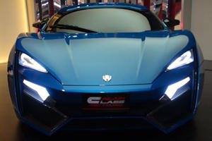 Lykan Hypersport Spied at Dubai Dealership