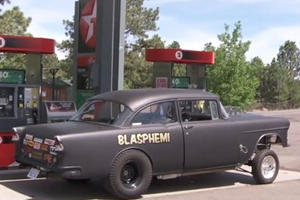 Hemi-Powered 1955 Chevy Survived a 2,600-Mile Road Trip