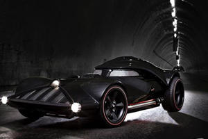 """More Details About the """"Darth Vader"""" Corvette"""