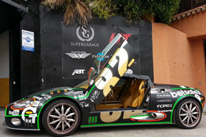 Awesome Gumball 3000 Spyker C8 Spyder For Sale