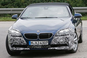BMW Prepares Facelift for 6 Series Convertible