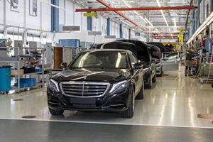 Armored Mercedes S-Class Guard Enters Production