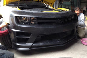 Transformers Bumblebee Camaro is One Cool DIY Project