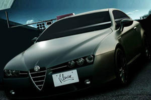 Alfa Romeo Brera Beautified by Vilner