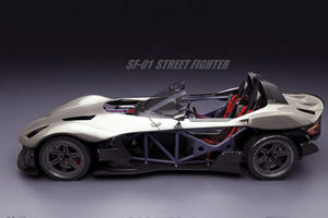 SF-01 Street Fighter is the World's First Crowd-Sourced Sports Car