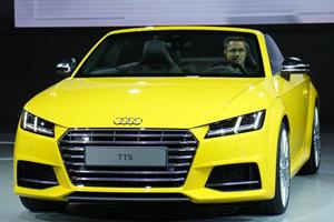 Audi TT S Roadster Makes its Live Debut