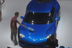 Up Close and Personal: First Video Footage of Lamborghini Asterion