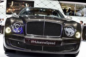 2015 Bentley Mulsanne Speed Makes Paris Debut