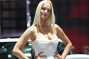Presenting this Year's Paris Motor Show Girls