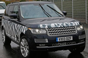 Is Land Rover's SVO Working on a Range Rover LWB Super-SUV?