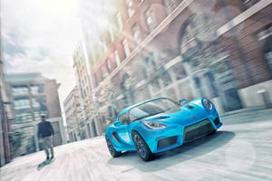 Detroit Electric Building World's Fastest Electric Sports Car
