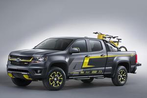 Chevy Colorado Performance Concept Powers into SEMA