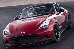 Mazda Reveals New MX-5 Global Cup Racecar