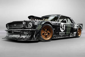 Ken Block Unveils Spectacular 845-HP Ford Mustang at SEMA
