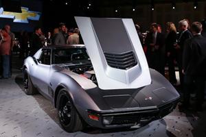 1971 Chevy Corvette Stingray Jimmie Johnson Concept is No Ordinary Resto-Mod