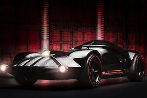 Ever Wanted to Know How to Design a Bad Ass Darth Vader Hot Wheels Car?