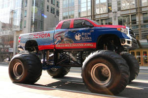 Toyota Comes to SEMA with Tundra Monster Trucks; Brings Out Our Inner Child