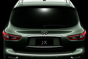 Infiniti Releases Fifth Image of JX Crossover